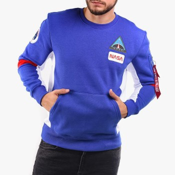 Space Camp Sweater - nautical blue