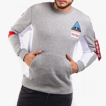 Space Camp Sweater - greyheather