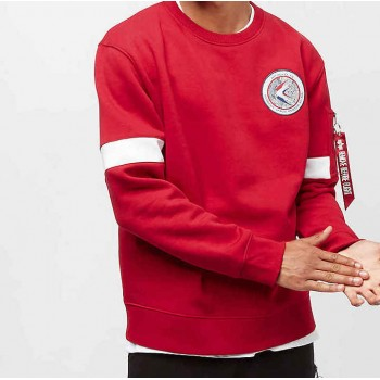 Apollo 15 Sweater - speed red