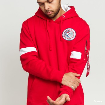 Apollo 15 Hoody - speed red