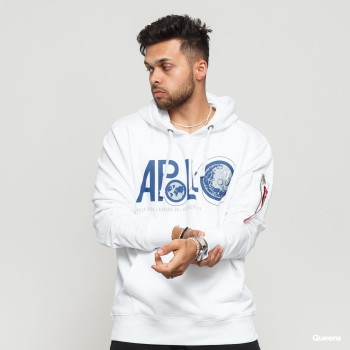 Apollo 50 Hoody - white