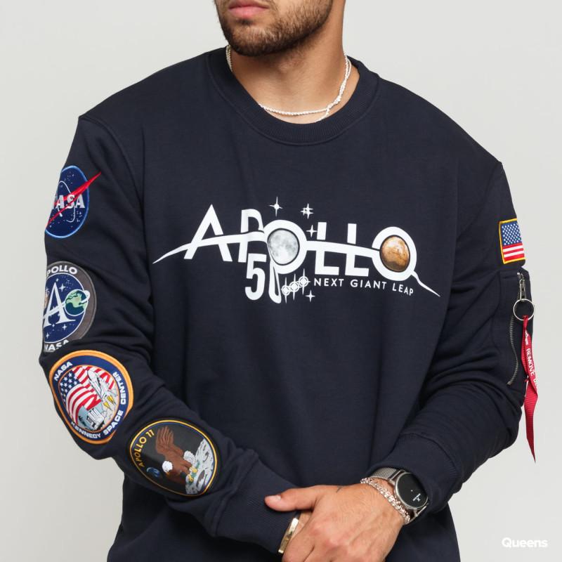 Apollo 50 Patch Sweater - replica blue