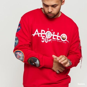 Apollo 50 Patch Sweater - speed red