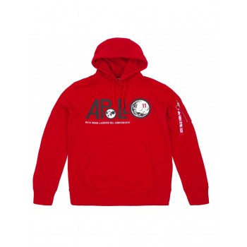 Apollo 50 Hoody - speed red