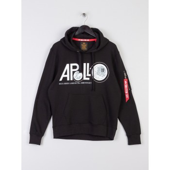 Apollo 50 Hoody - black