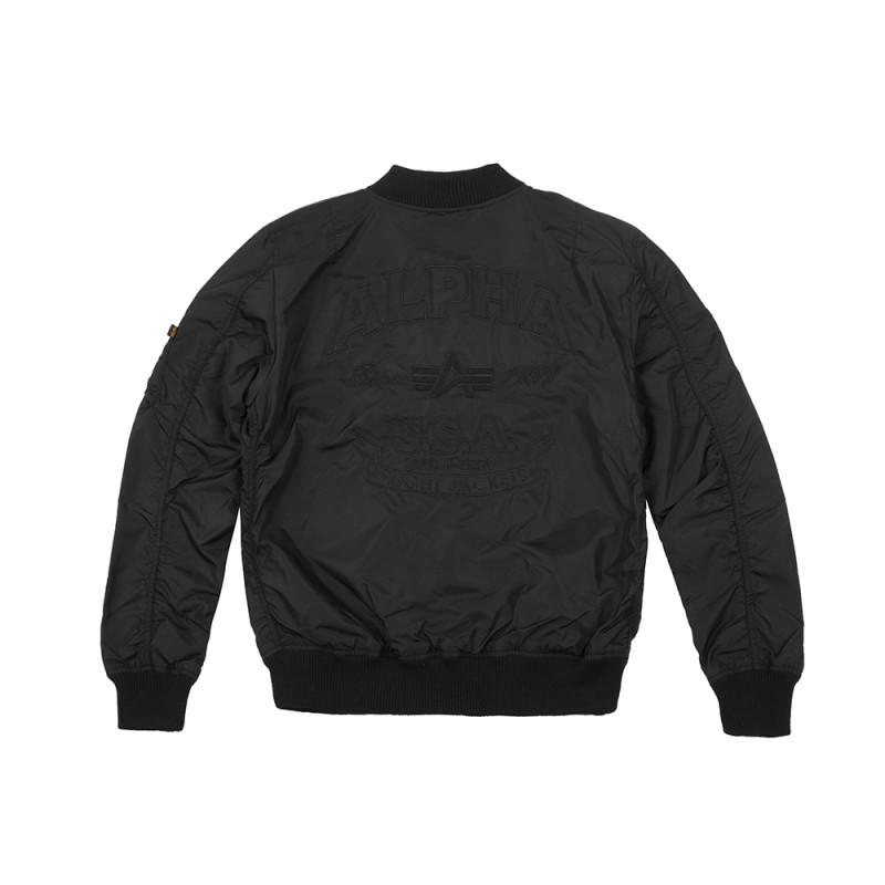 MA-1 TT Patch SF  - all black