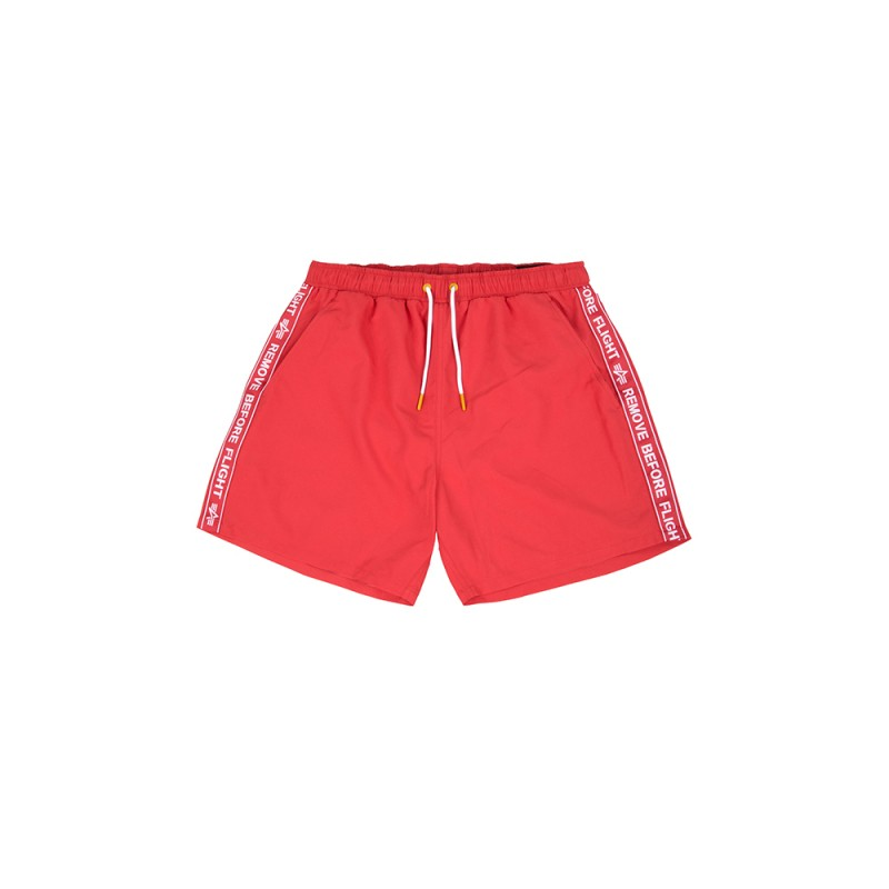 RBF Tape Swim Short - speed red