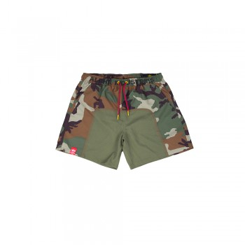 Camo Swim Short - woodcamo65