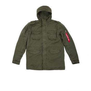 Huntington Hood - dark olive