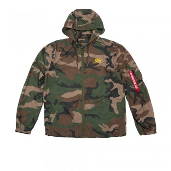 Windbreaker - woodl camo