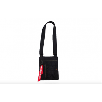 Crew Messenger Bag - black