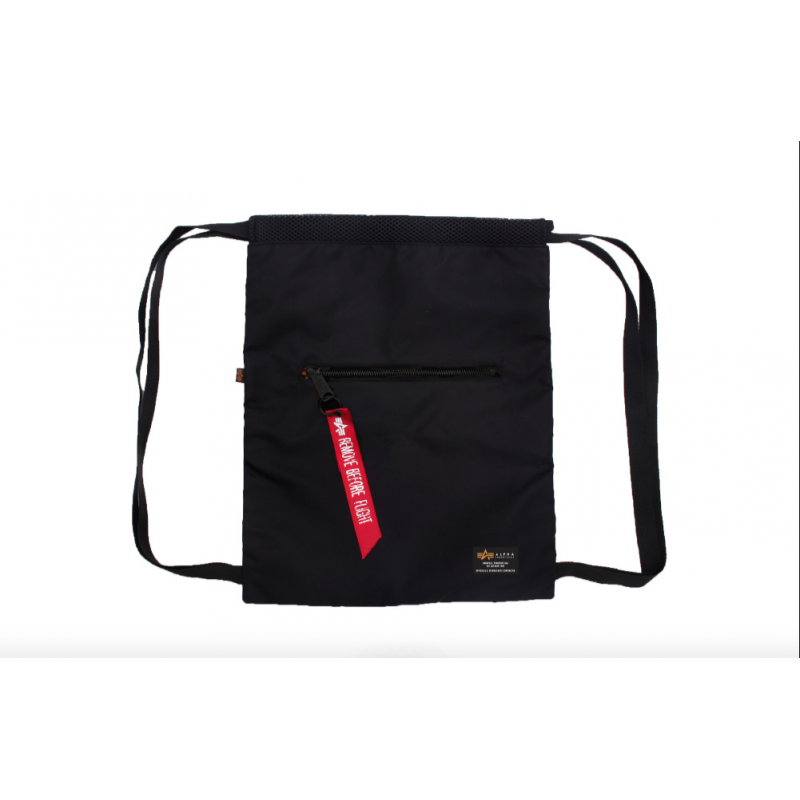Crew Gym Bag - black