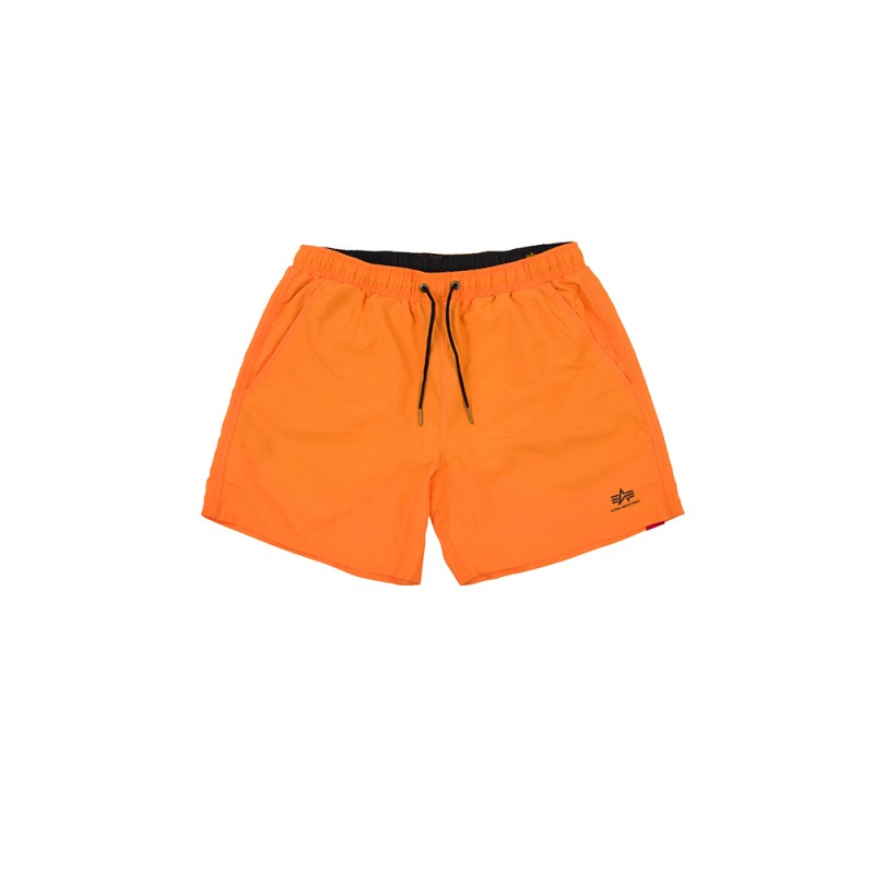Basic Swim Short - alpha orange