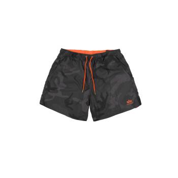 Basic Swim Short - black camo