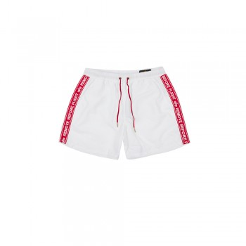 RBF Tape Swim Short - white