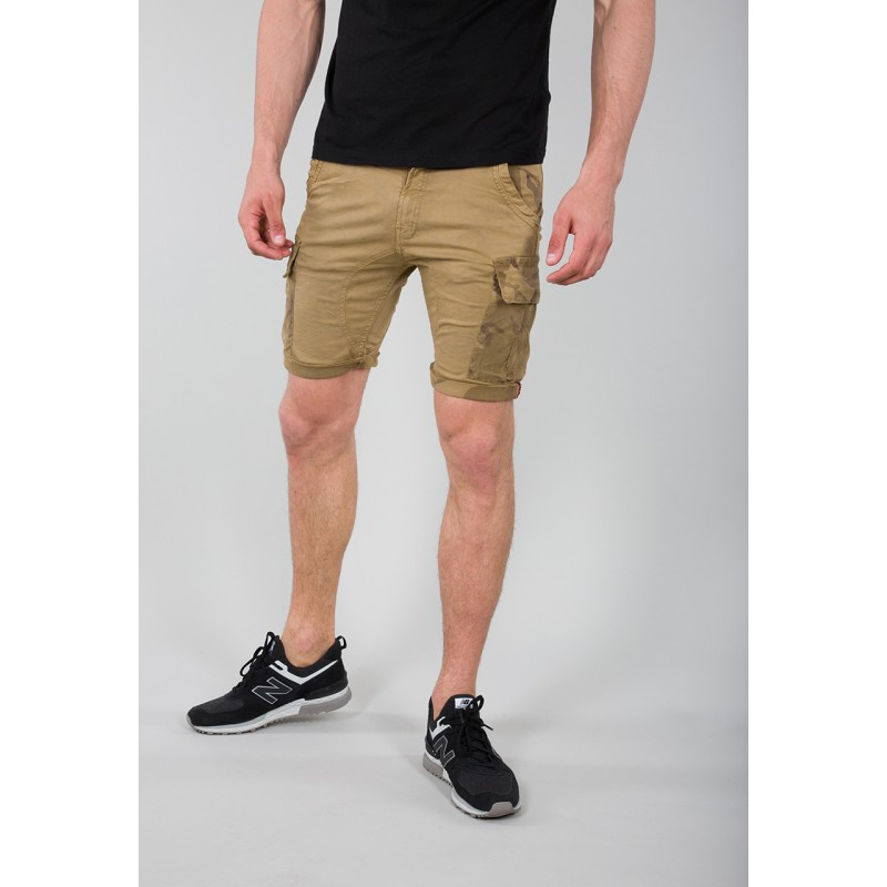 Camo Pocket Short - sand
