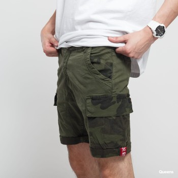 Camo Pocket Short - dark olive