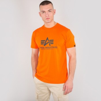 Basic T - Alpha orange