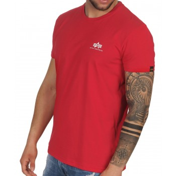 Basic T Small Logo - speed red