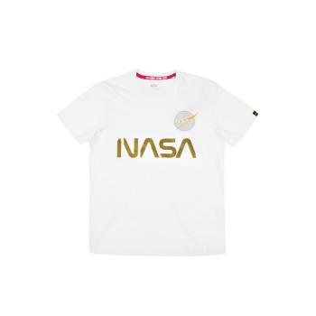 NASA Reflective T Kids - white/gold