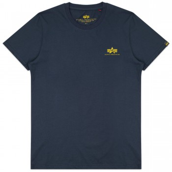 Basic T Small Logo - new navy