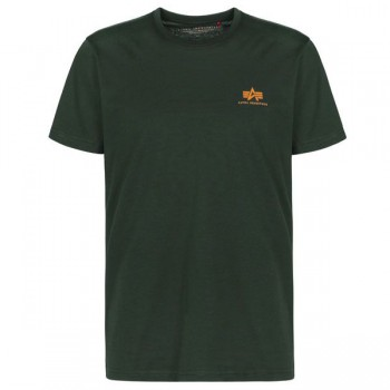 Basic T Small Logo - dark petrol
