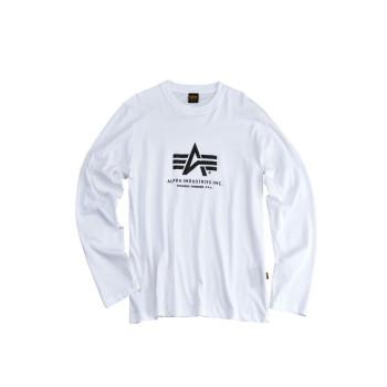 Basic T LS - white