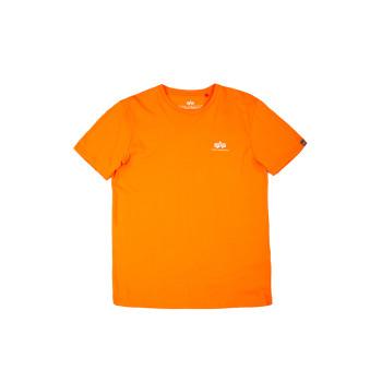 Basic T Small Logo - Alpha orange