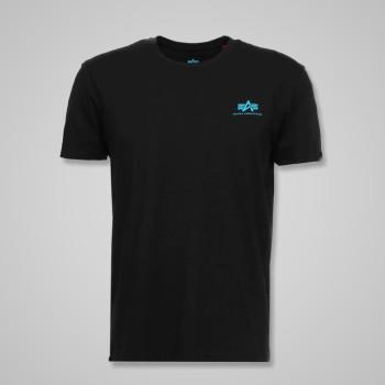 Basic T Small Logo - black/blue