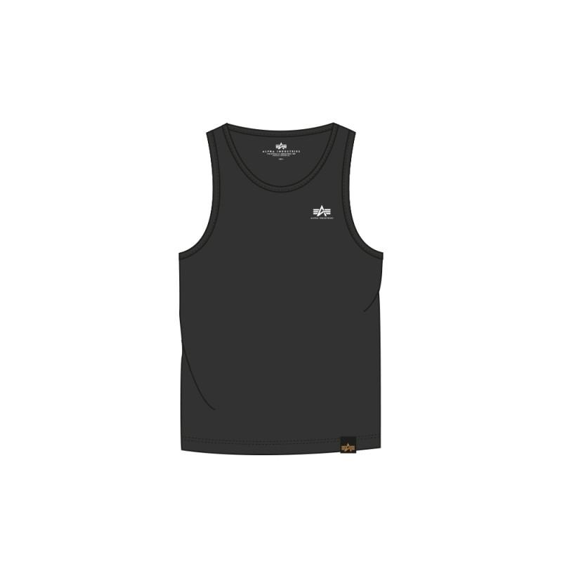 Small Logo Tank - black