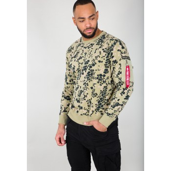 Special Forces Sweater  - green/stone