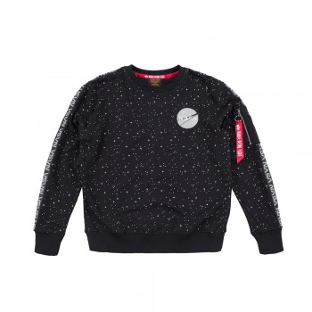 NASA Tape Sweater  - black