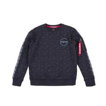 NASA Tape Sweater  - replica blue