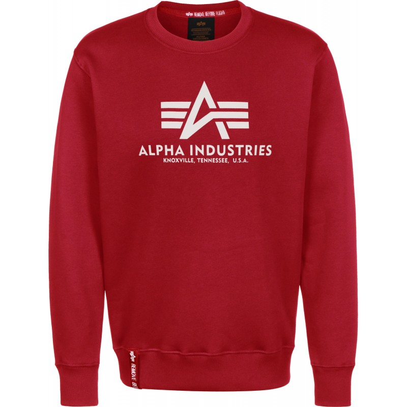 Basic Sweater - speed red