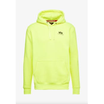 Basic Hoody Small Logo - neon/yellow