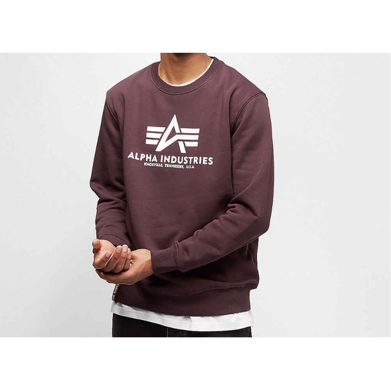 Basic Sweater - deep maroon