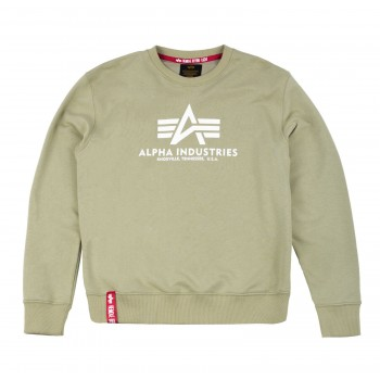 Basic Sweater - light olive