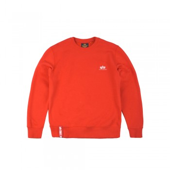 Basic Sweater Small Logo - speed red
