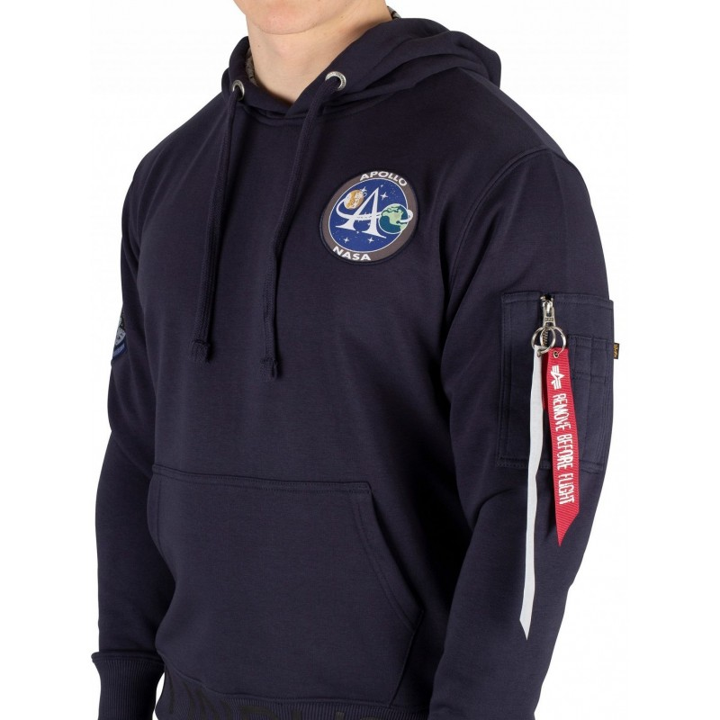Moon Landing Hoody  - replica blue