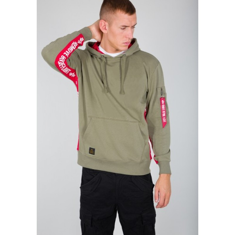 RBF Inlay Hoody - olive