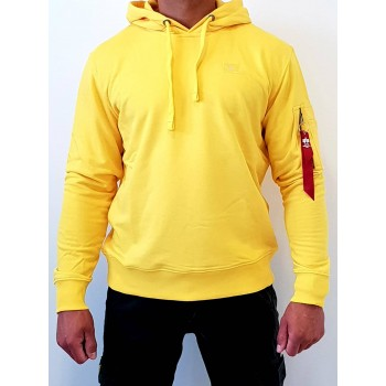 X-Fit Hoody - prime yellow