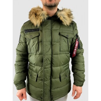 Field Coat Puffer FD - dark green