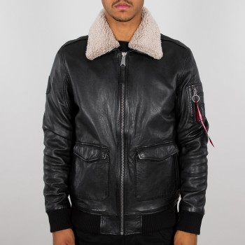 G1 Leather Jacket - black