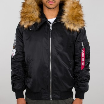 MA-1 Hooded Arctic - black