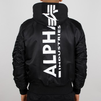 MA-1 ZH Backprint - black/white