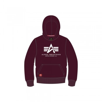 Basic Hoody Kids/Teens - deep maroon