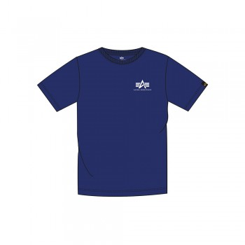 Basic T Small Logo Kids - nautical blue