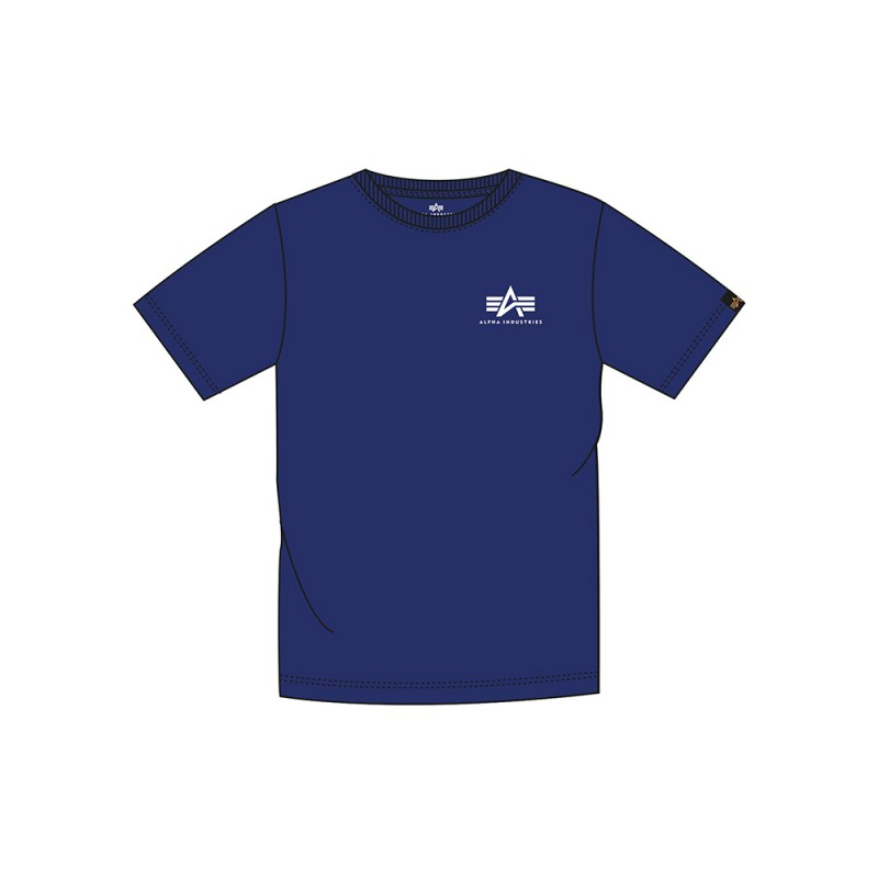 Basic T Small Logo Kids - nautical blue