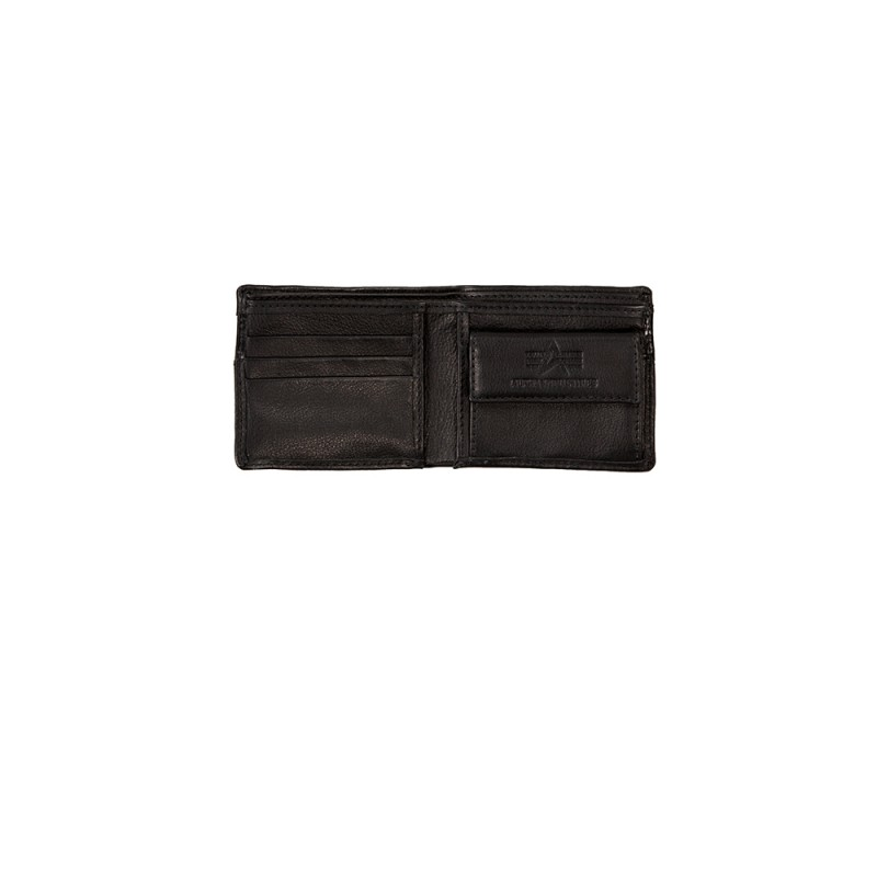 RBF Leather Wallet - black