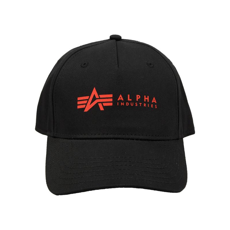 Alpha Cap - black/red